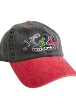 Frog Skateboards Frog Exist! Hat Black/Red