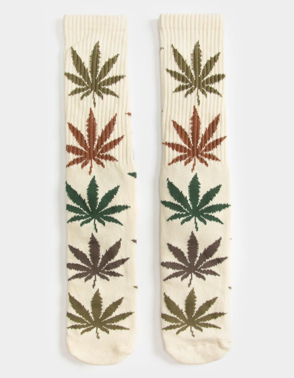 HUF Gradient Leaves Plantlife Sock Natural