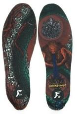 FP Insoles Moldable Kingfoam Elite Lizard King L 9-14