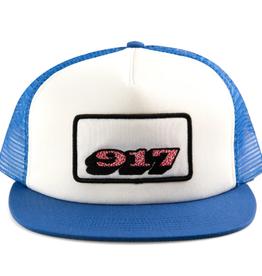 Call Me 917 Sprinkle Blue/White Trucker Hat