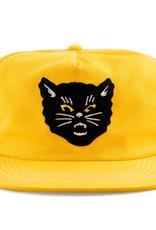 Call Me 917 Black Cat Yellow Trucker Hat