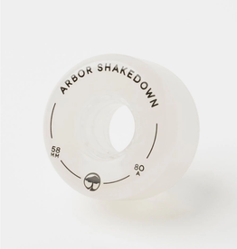 Arbor Shakedown 80a Ghost White 58mm