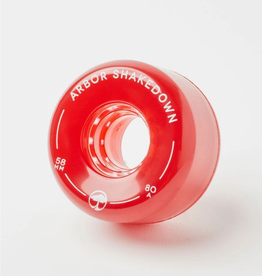 Arbor Shakedown 80a Vinatge Red 58mm
