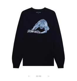 Fucking Awesome Labyrinth L/S Black