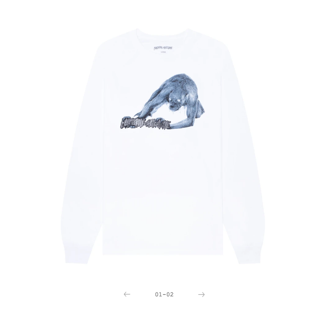 Fucking Awesome Labyrinth L/S White