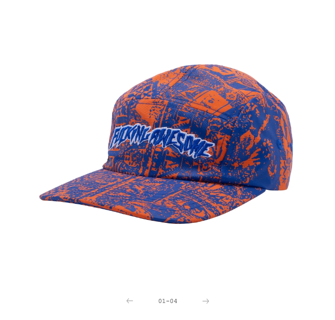 Fucking Awesome Acupuncture Volley Orange/Blue