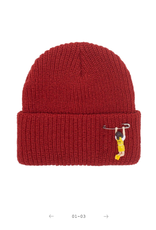 Fucking Awesome Hanging Girl Beanie Pale Rust
