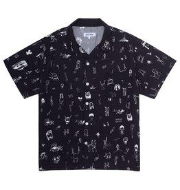 Fucking Awesome Dill Drawings Club Shirt Black