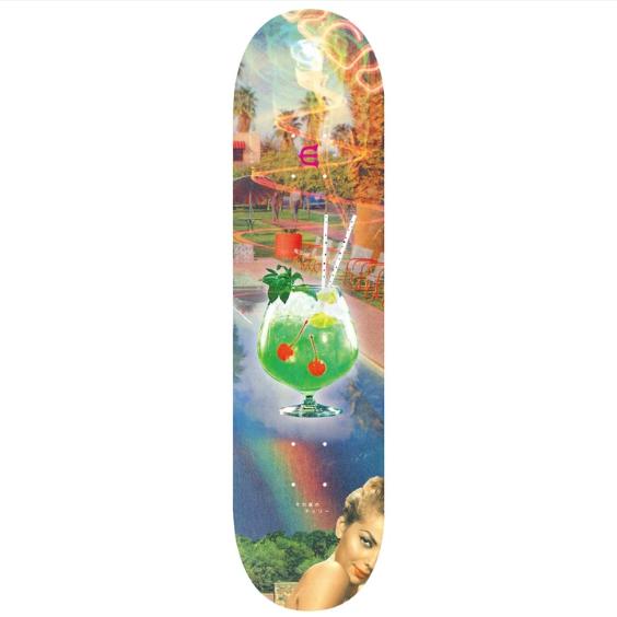 Evisen Skateboards Cherry Popped 8.5