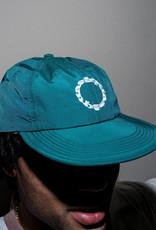 Quasi Skateboards Trax 6 Panel Teal Hat
