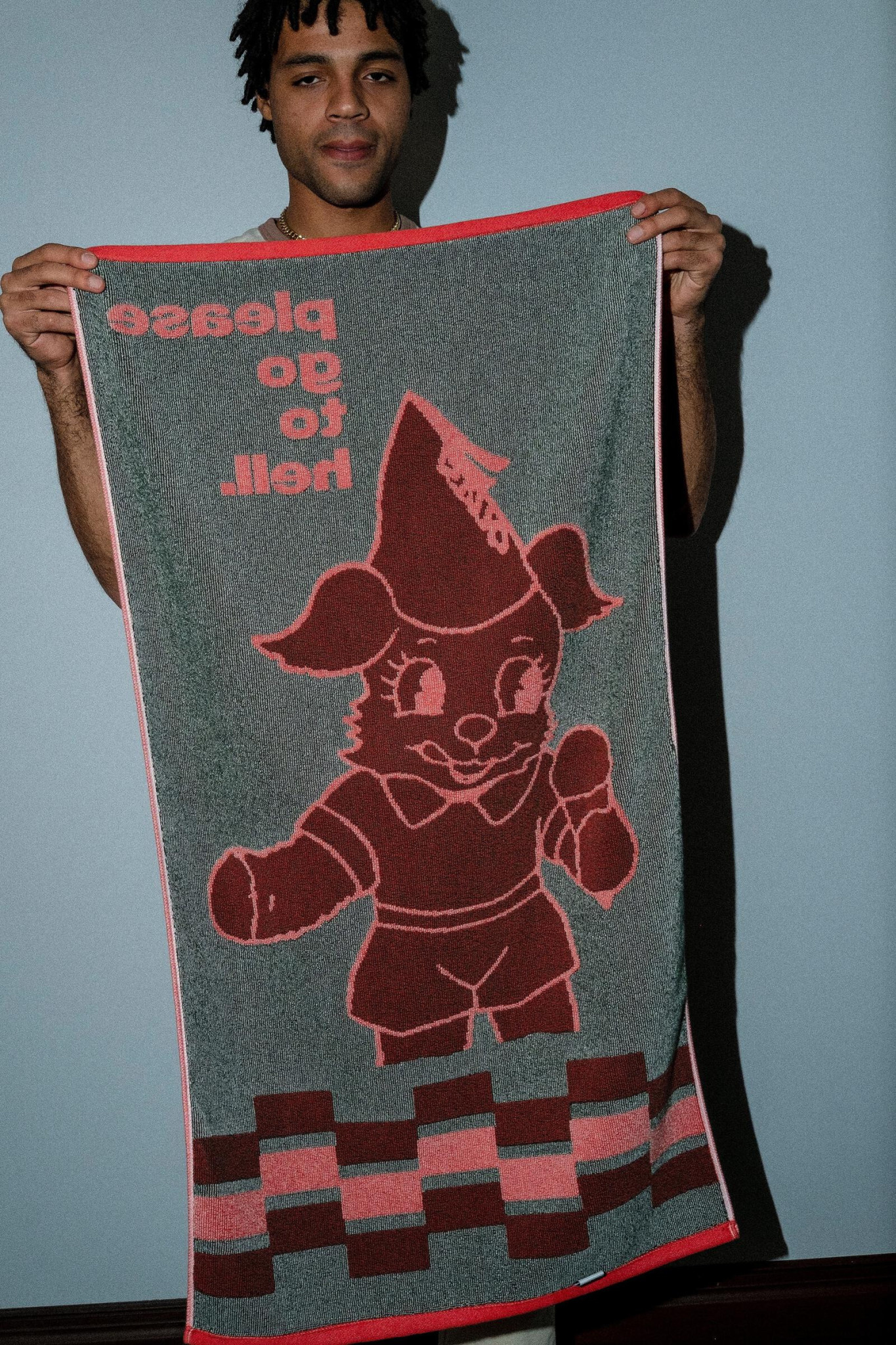 Quasi Skateboards Go To Hell Red Towel