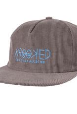 Krooked Krooked Eye Grey/Blue Snapback