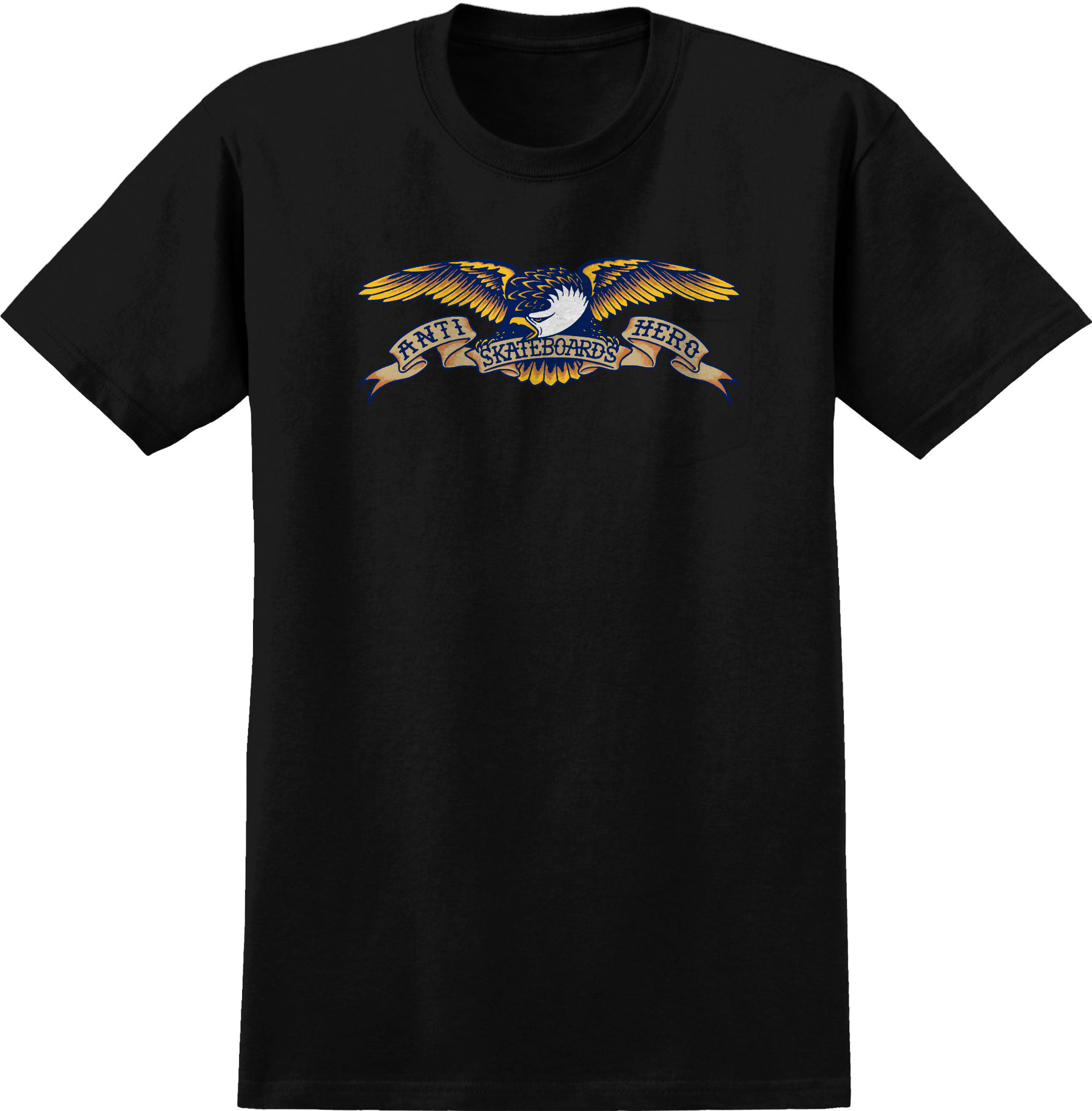 Anti Hero Eagle SS Black Tee