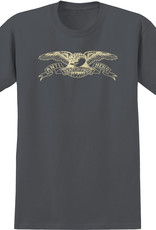 Anti Hero Basic Eagle Charcoal/Cream Tee
