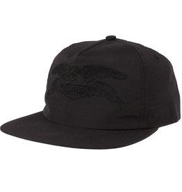 Anti Hero Basic Eagle Emb. Snapback Black/Black