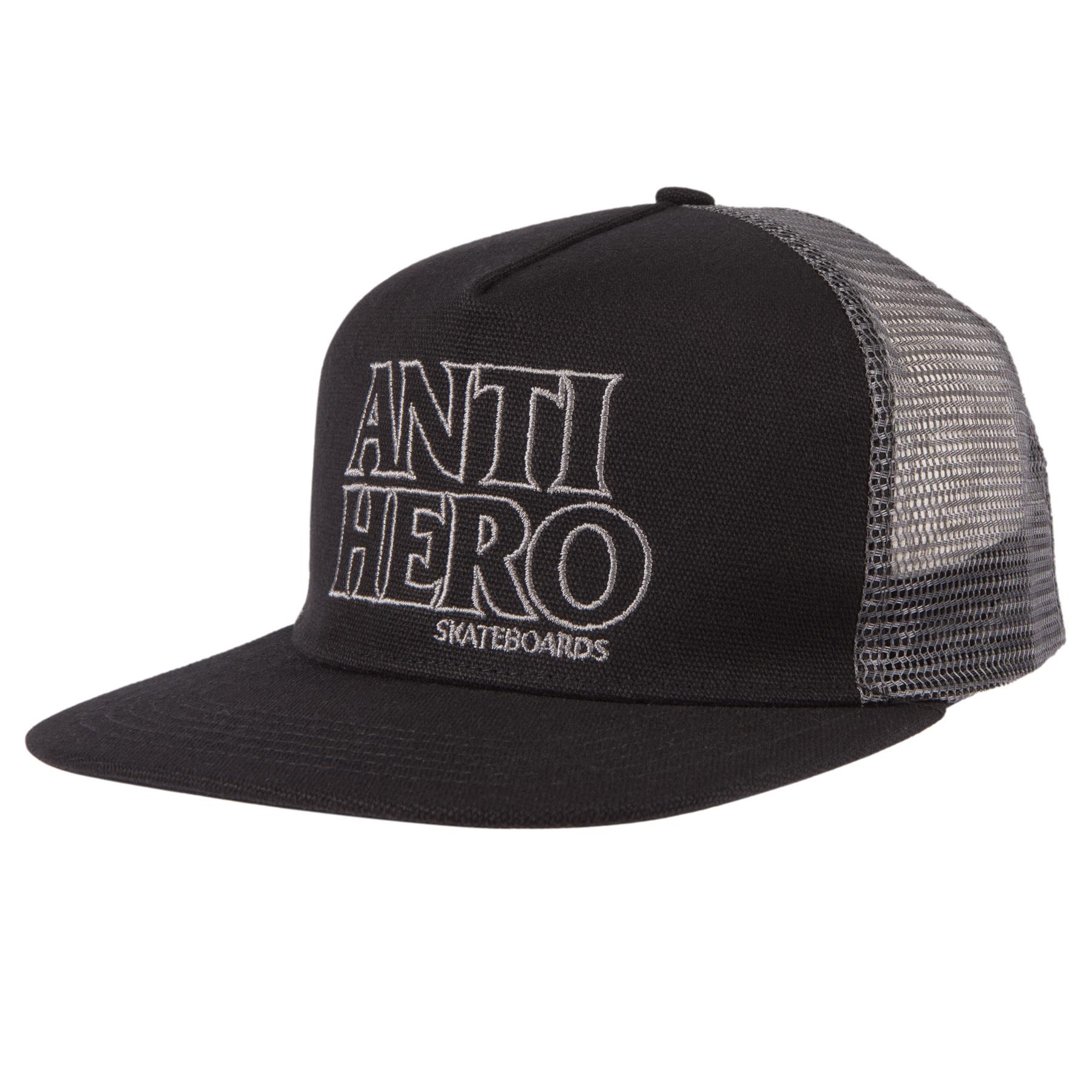 Anti Hero Blackhero Ol Truck Snapback Black/Black