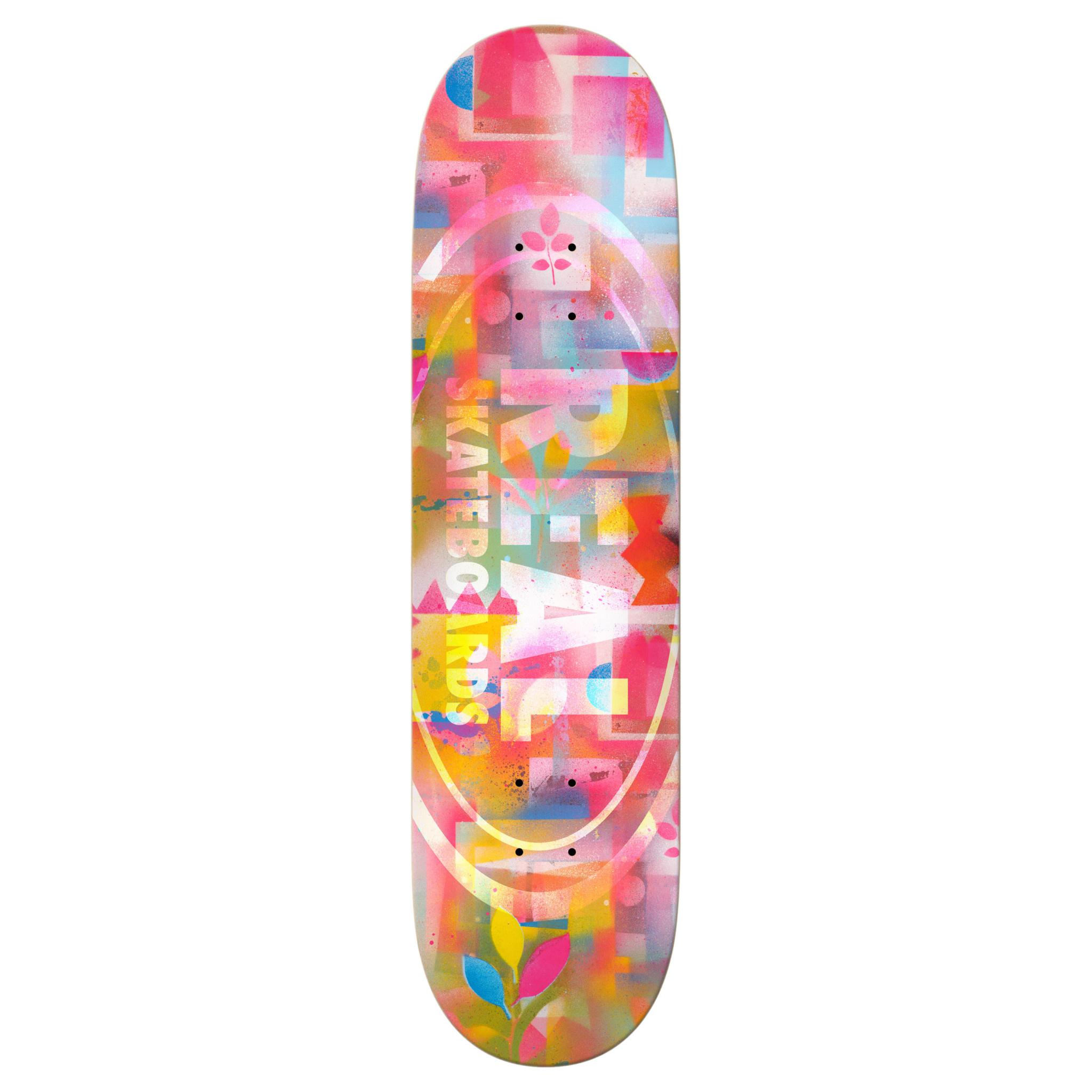 """Real Skateboards Team Acrylics 8.38"""""""