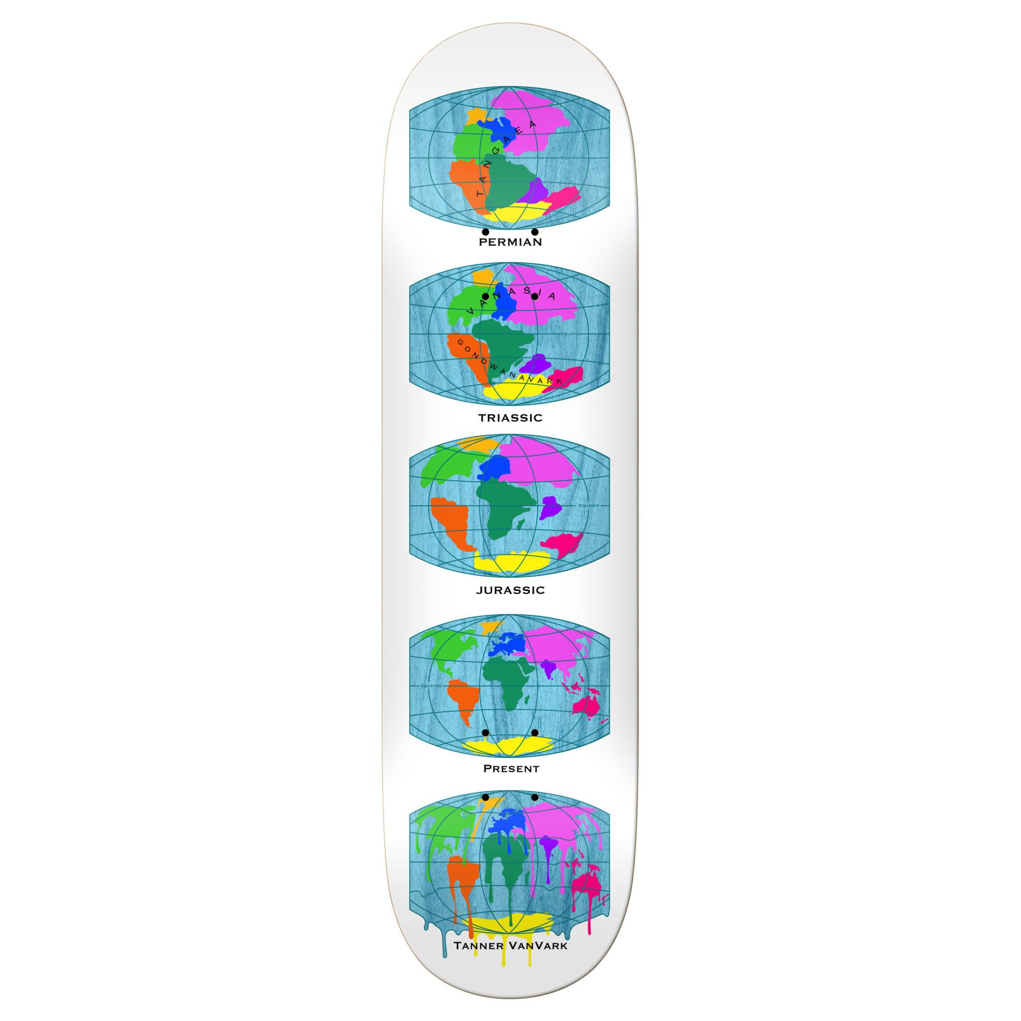 "Real Skateboards Tanner All Earth 8.38"""