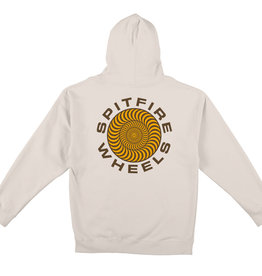Spitfire Wheels Classic 87 Swirl Bone/Gold Hoodie