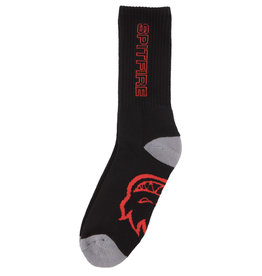 Spitfire Wheels Classic 87 Black/Red/Grey 3 Pack Sock