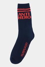 Anti Hero Blackhero If Found Sock Navy/Red