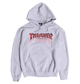 Thrasher Mag. Blood Drip Hoody Ash