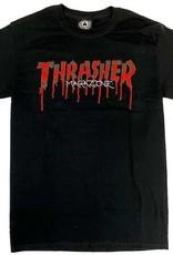 Thrasher Mag. Blood Drip Black