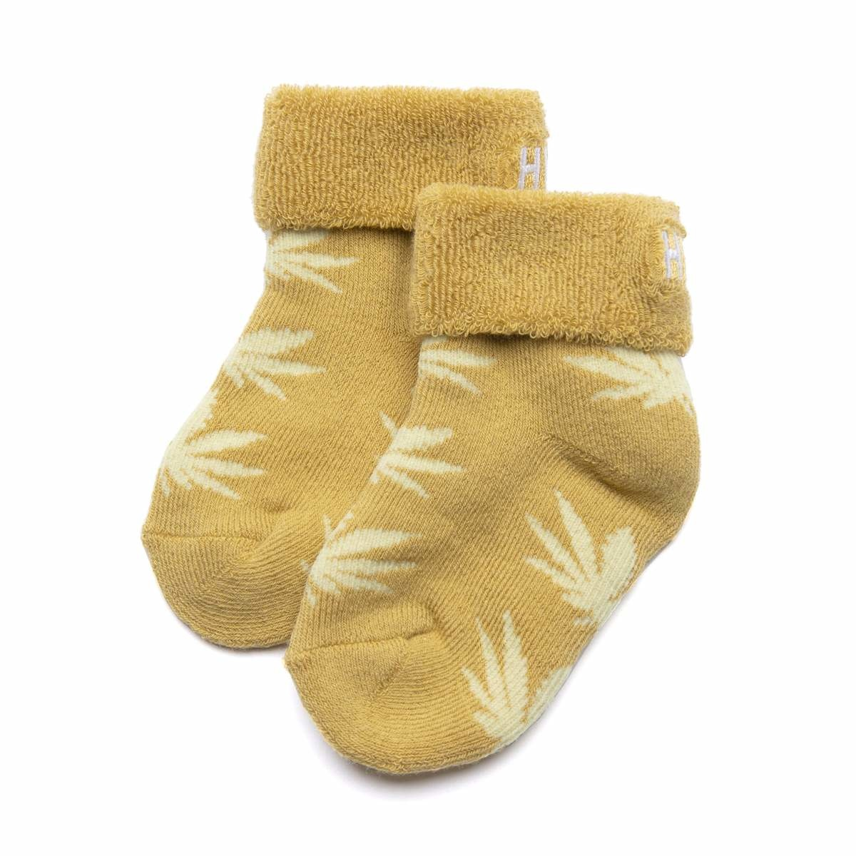 HUF Baby Seeds 3pack Socks Gold/Red/Green