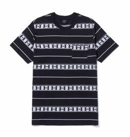 HUF Palisades Stripe Knit Black