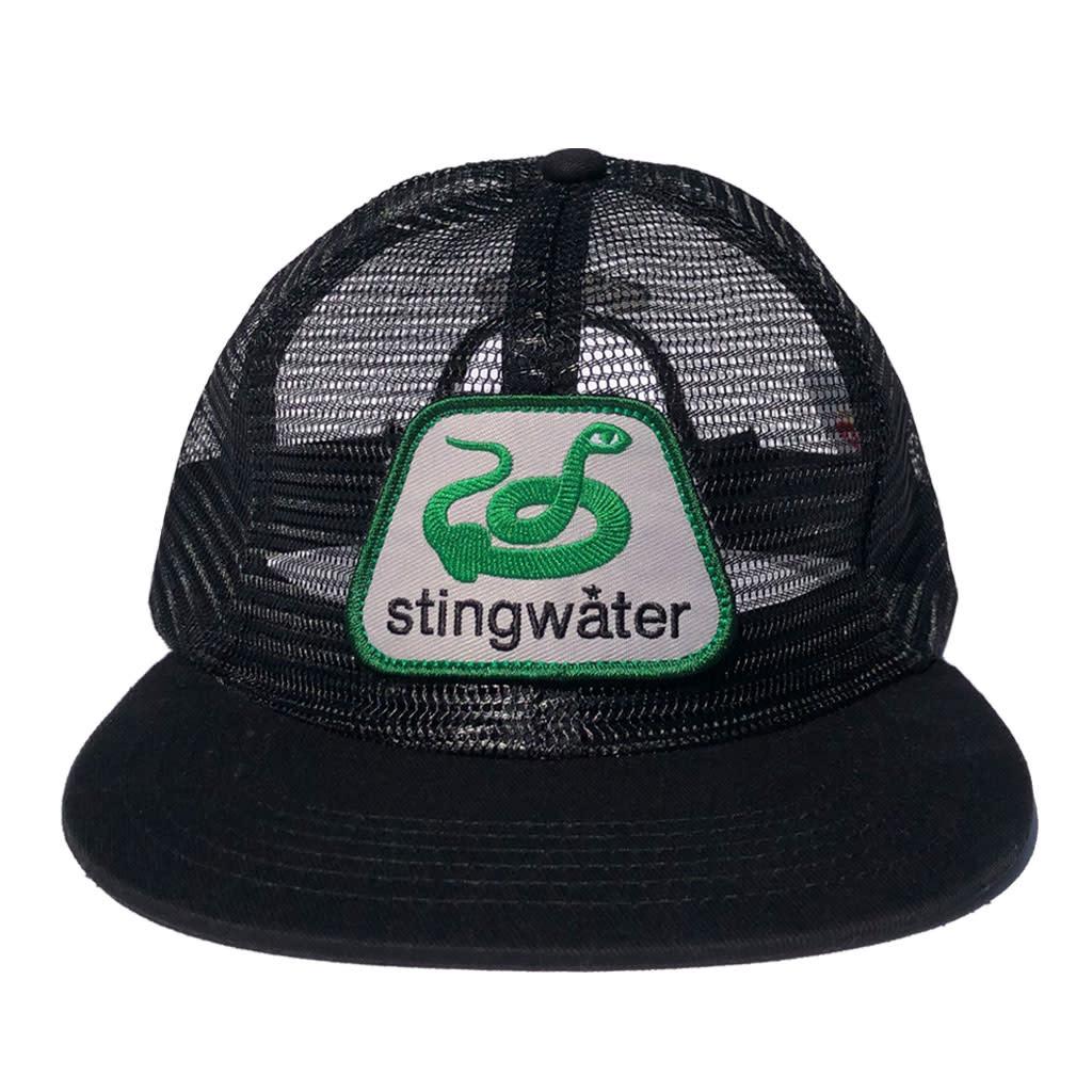 Stingwater Snake Hat Black