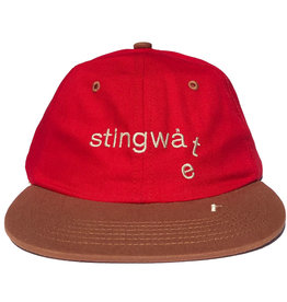 Stingwater Two Tone Melting Logo Hat Red