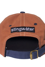 Stingwater Two Tone Melting Logo Hat Brown