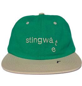 Stingwater Two Tone Melting Logo Hat Green