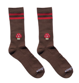 Stingwater Athletic Aga Sock Brown