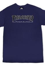 Thrasher Mag. Outlined Navy/Black