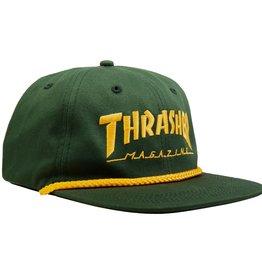 Thrasher Mag. Rope Snapback Green/Yellow