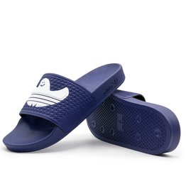 Adidas Shmoofoil Slide Blue/White