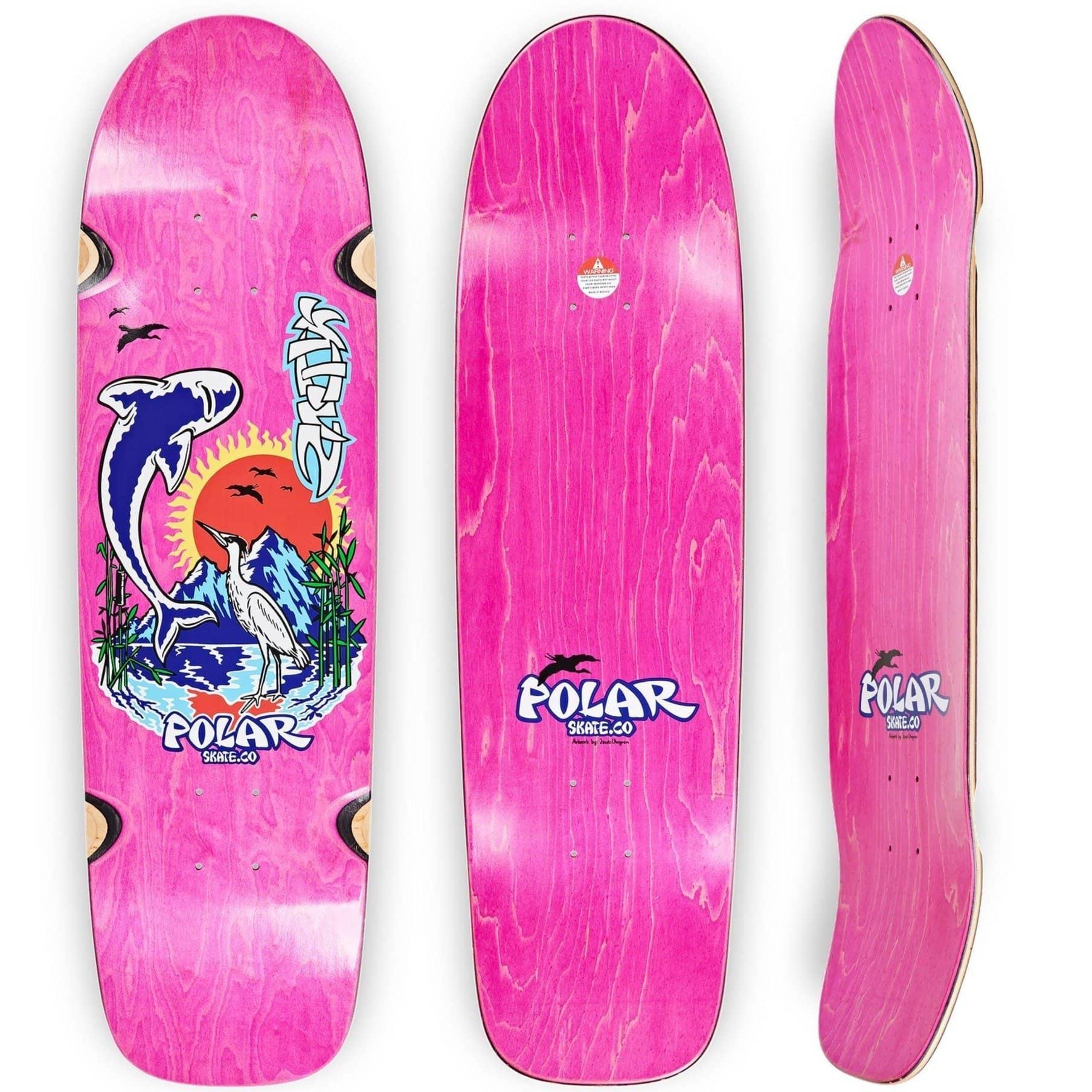 Polar Skate Co. Mt Fuji Sanbongi  Wheel Wells Surf Jr Shape
