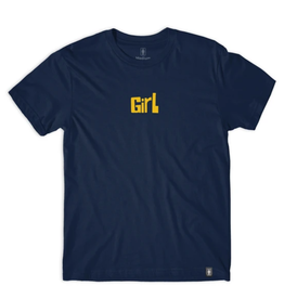 Girl Pictograph Navy Tee