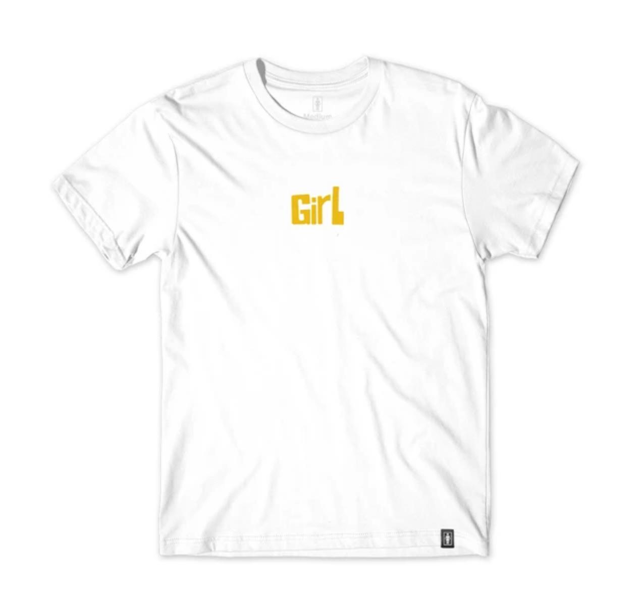 Girl Pictograph White Tee