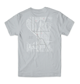 Girl Pin Point Silver Tee
