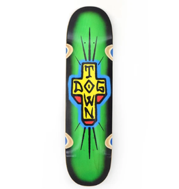 """Dogtown Spray Cross Loose Trucks 8.5"""" Assorted Stains/Black Fade"""