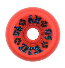 Dogtown K-9 80's 95a Red 60mm