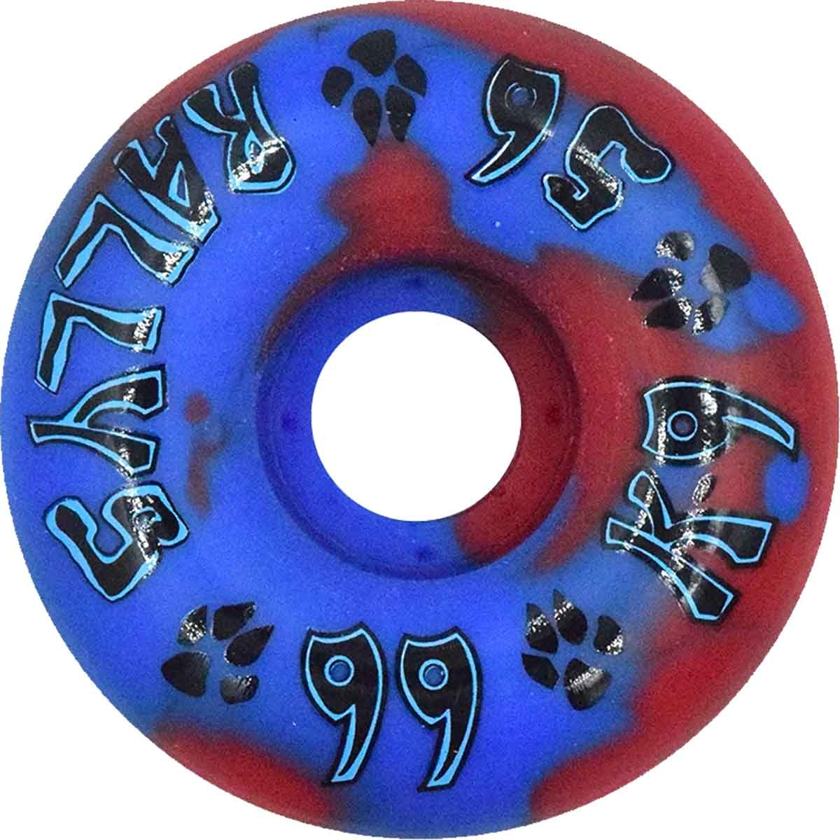 Dogtown K-9 Rally 99a Red/Blue 56mm
