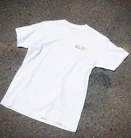 Miles Griptape Logo Hit Tee White/Orange