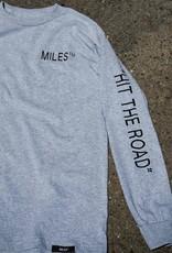 Miles Griptape Logo Hit L/S Grey