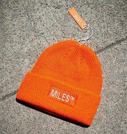 Miles Griptape Miles Logo Beanie Orange