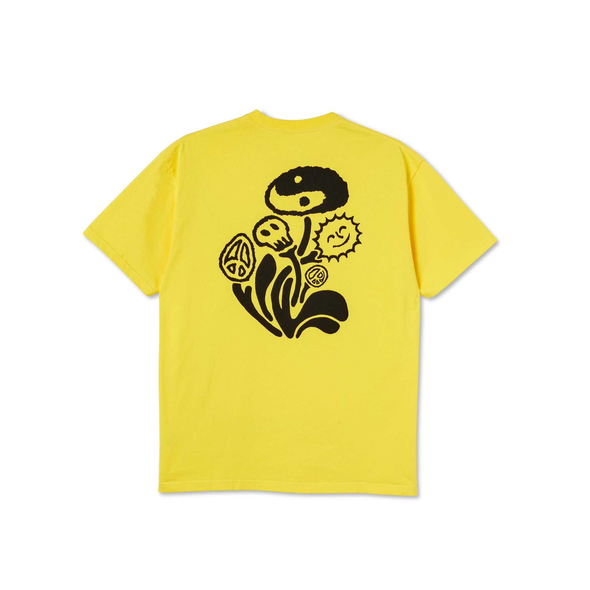 Polar Skate Co. Tripping Tee Lemon