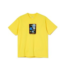 Polar Skate Co. World Domination Tee Lemon
