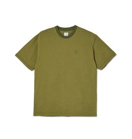 Polar Skate Co. Dizzy Stripe Tee Army Green